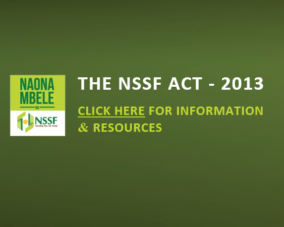 New NSSF Act 2013