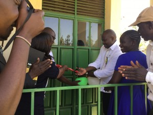 Classroom opening at Kotetni Primary School Kisumu County